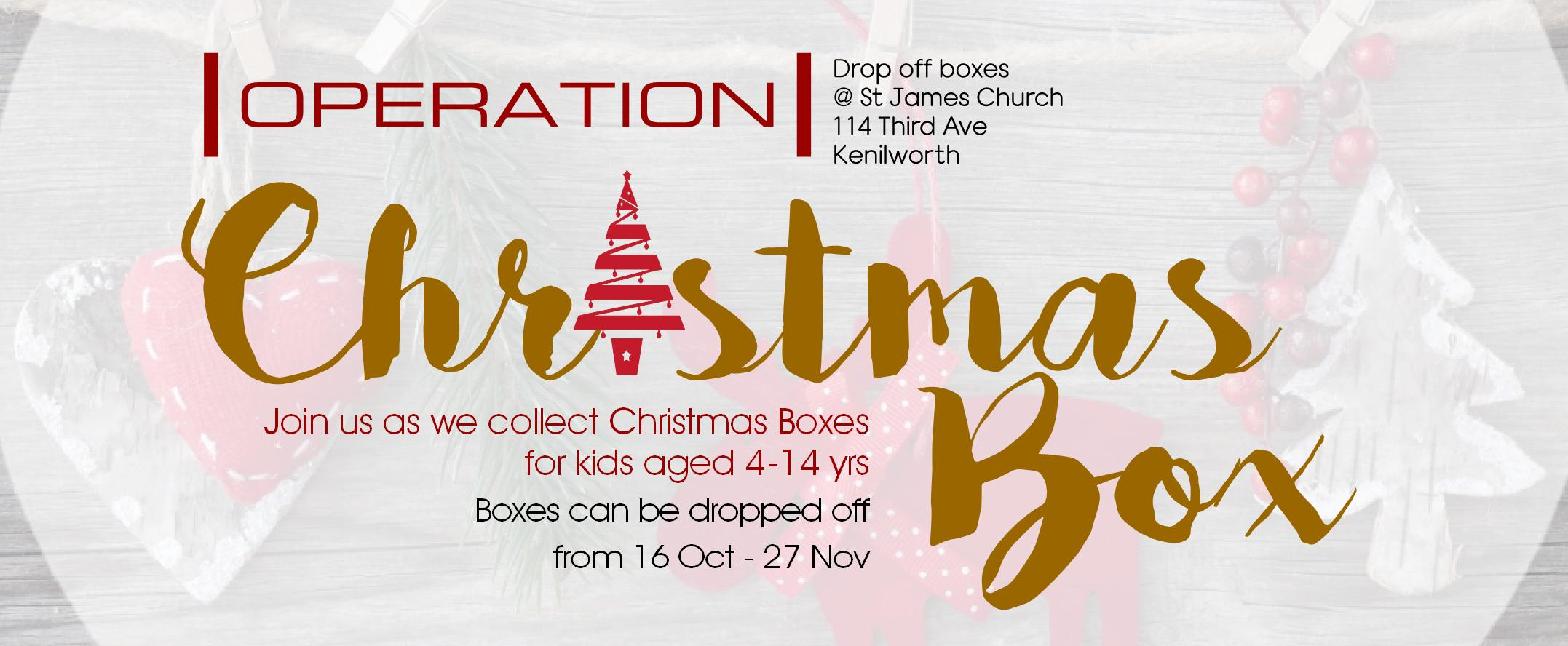 2016 Rotator Operation Christmas Box