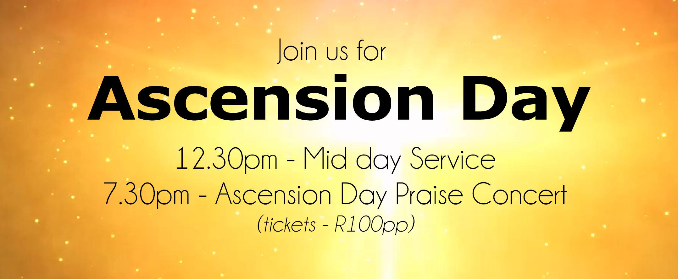2017 Ascension Day services